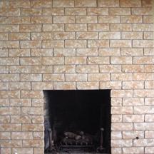 Faux Stone on Brick